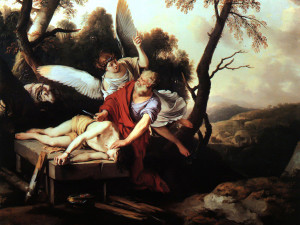 God Responds to Story of Abraham and Isaac